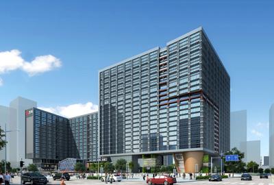 南宁万科大厦3#楼、4#楼及地下室