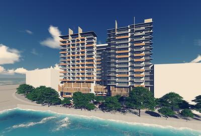 马尔代夫Nasandhura酒店公寓综合体项目