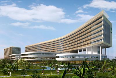 海南省肿瘤医院一期医院主楼