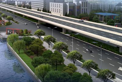 杭州市德胜东路(沪杭高速-文汇路)改造提升工程江干段02工程