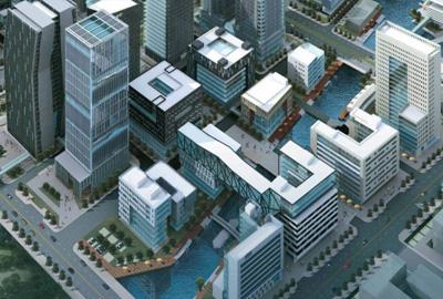 宁波南部商务区核心地块Ⅰ、Ⅲ标幕墙工程