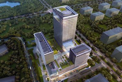 包商银行商务大厦工程