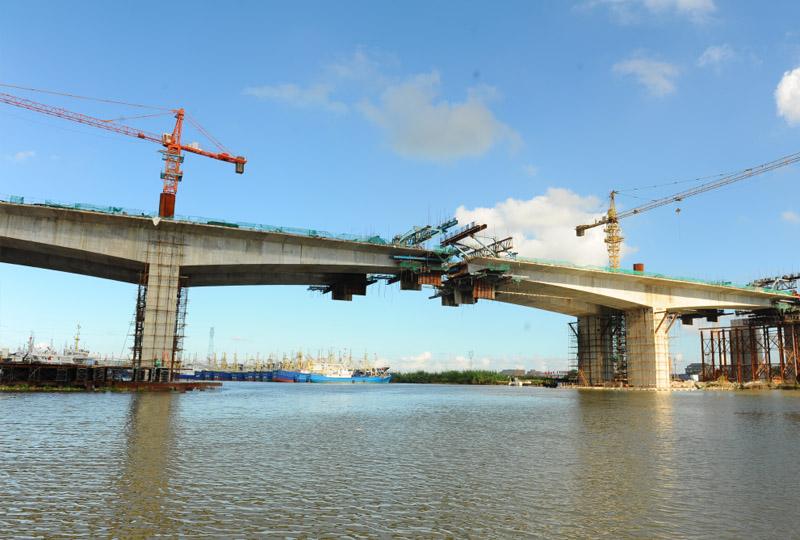 75省道金清港大桥