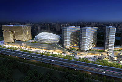 政储出[2010]6号地块商业办公用房幕墙工程(杭州中大圣马广场)
