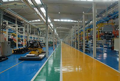 上海华普汽车设备安装工程