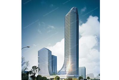 鄞州区新城大厦1#楼幕墙工程