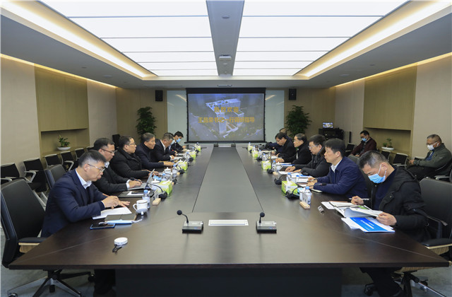 浙江省委常委、政法委书记王昌荣一行莅临中天总部