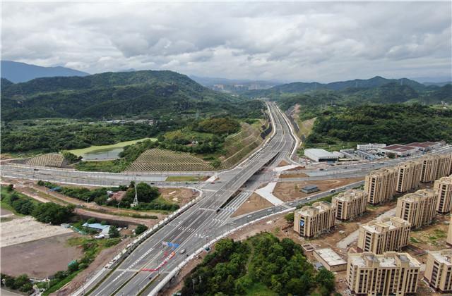丽水桐岭路道路工程PPP项目正式通车